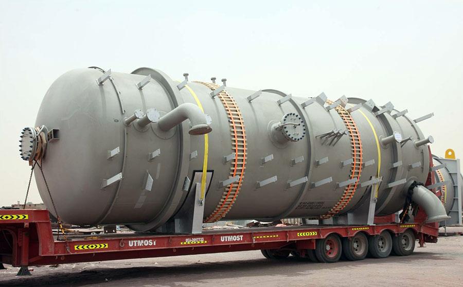 Pressure Vessels Ss Amp Cs Gulf Stainless Steel Factory W L L